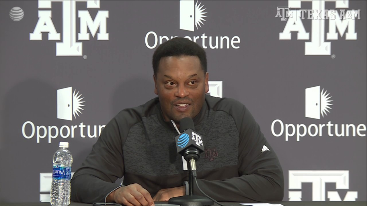 Kevin Sumlin previews Texas A&M's Thanksgiving matchup with LSU