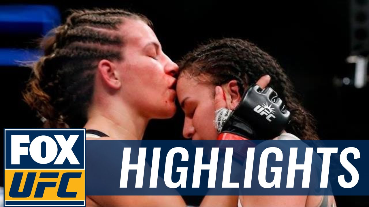 Miesha Tate vs. Raquel Pennington UFC 205 fight highlights