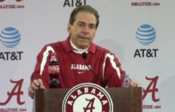 Nick Saban talks the Iron Bowl & shares his Thanksgiving wish