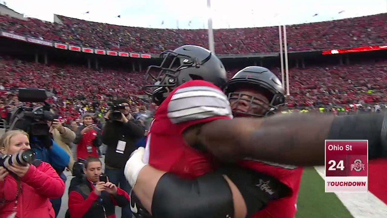 Ohio State's Curtis Samuel scores Double OT touchdown to defeat Michigan