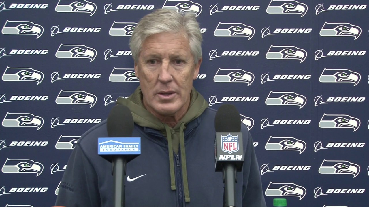 Pete Carroll previews the Seahawks matchup with the Philadelphia Eagles