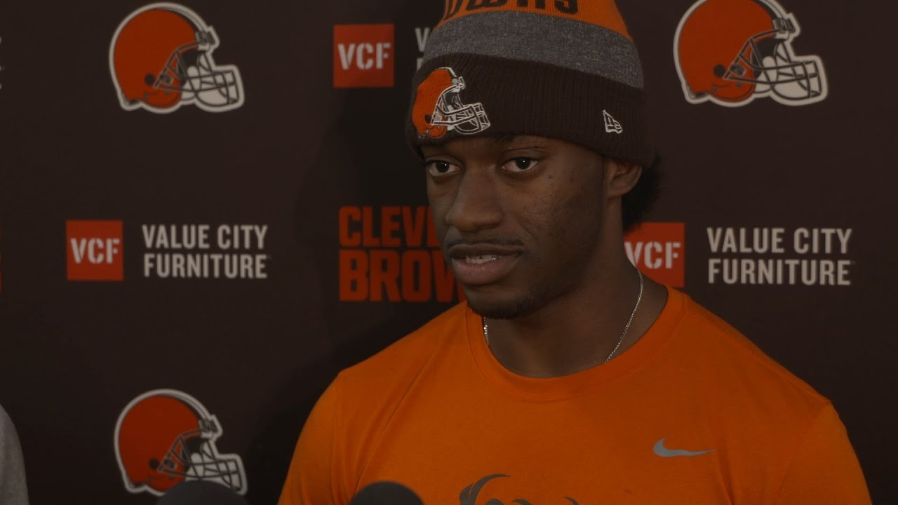 Robert Griffin III speaks on the Cleveland Browns struggles & being healthy