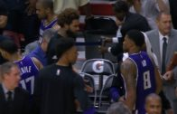 Rudy Gay airballs game winning shot for Sacramento
