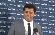Russell Wilson speaks on the Seahawks struggles on offense vs. Tampa Bay