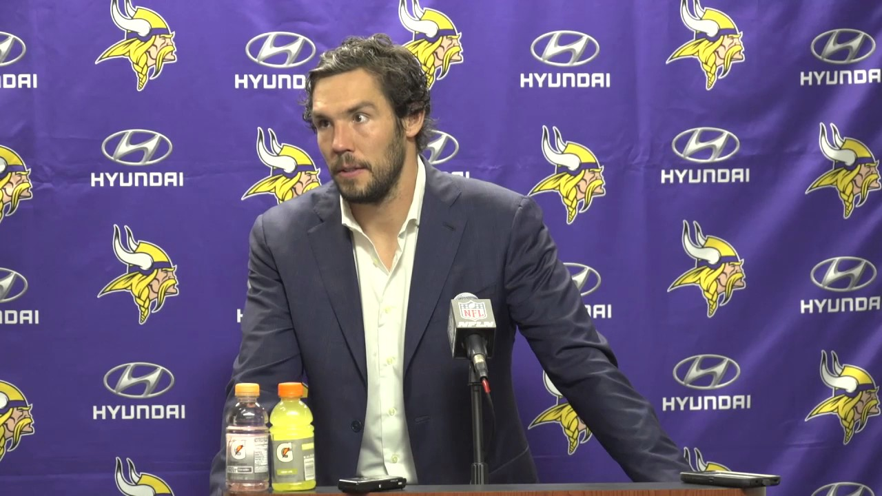 Sam Bradford says there's a lot of football left for the Vikings