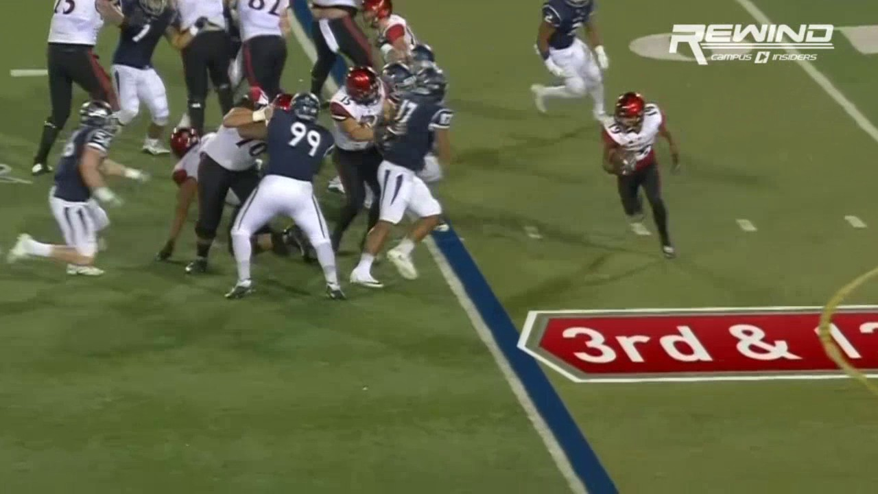 San Diego State sets a school rushing record vs. Nevada