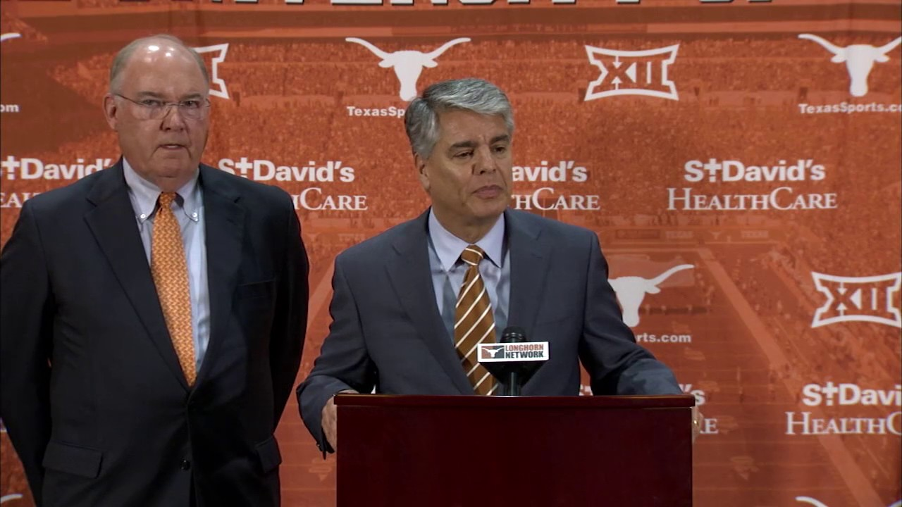 Texas Longhorns introduce Tom Herman as head football coach (Full Press Conference)