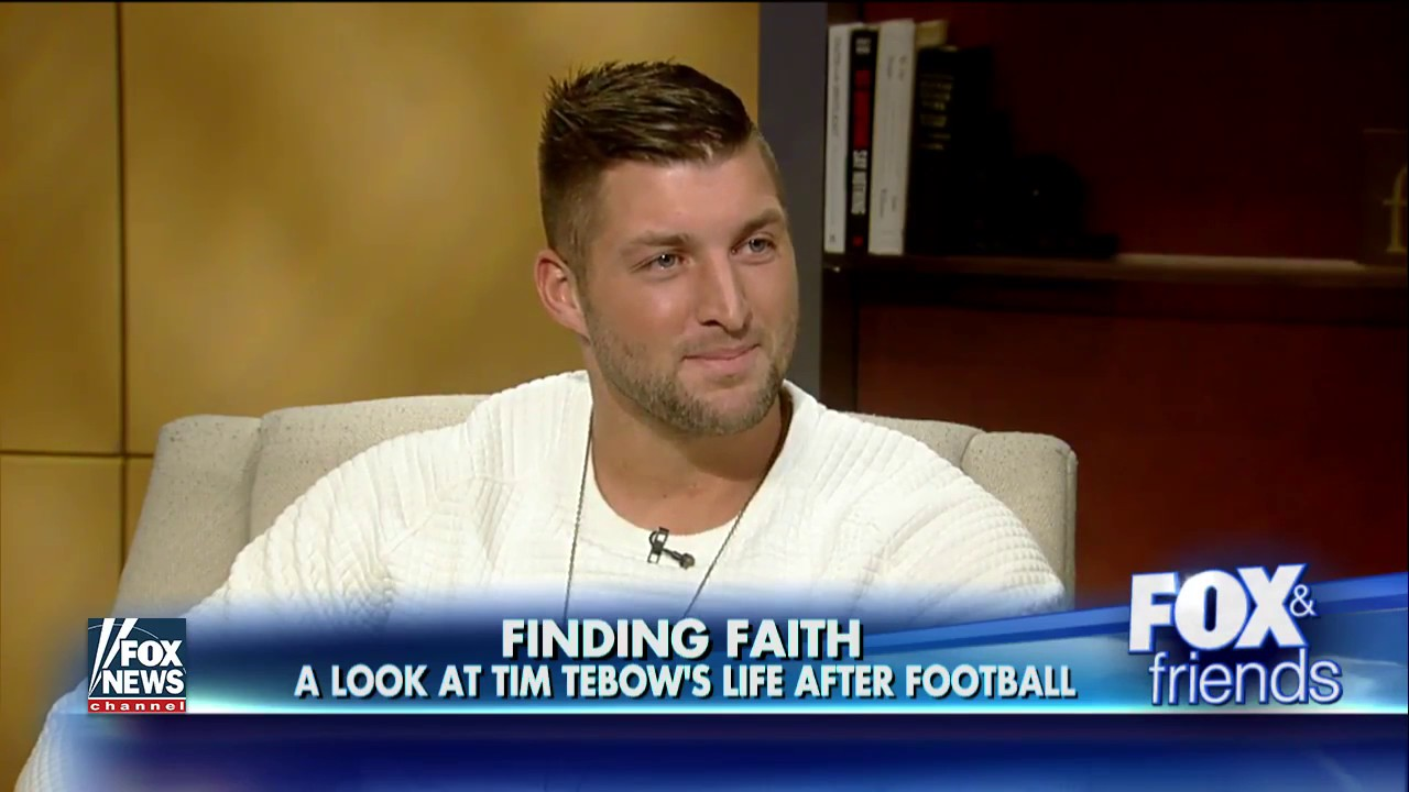 Tim Tebow speaks on his new book