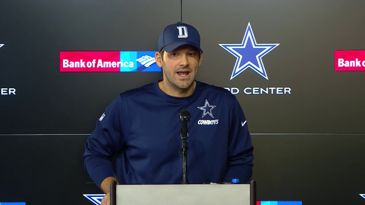 Tony Romo speaks on being the backup Quarterback to Dak Prescott & Cowboys