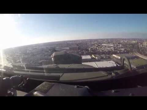 82nd Combat Aviation Brigade flies over Army vs. Navy game