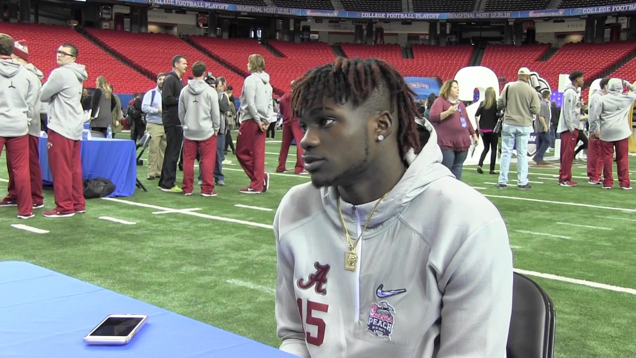 Alabama's Ronnie Harrison speaks on Crimson Tide's term
