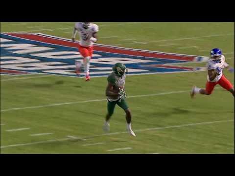 Baylor's KD Cannon makes Randy Moss like grab vs. Boise State