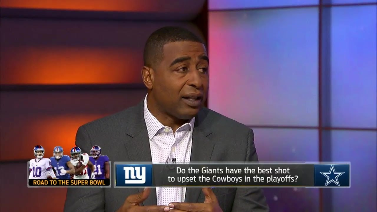 Cris Carter's 4 reasons the New York Giants can upset the Cowboys in the playoffs