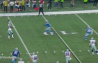 Dez Bryant throws his first career touchdown pass to Jason Witten