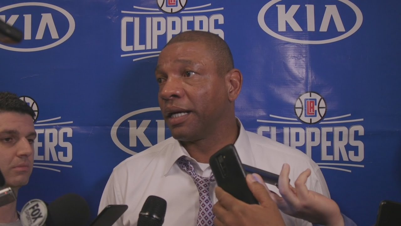 Doc Rivers speaks on his ejection vs. Brooklyn