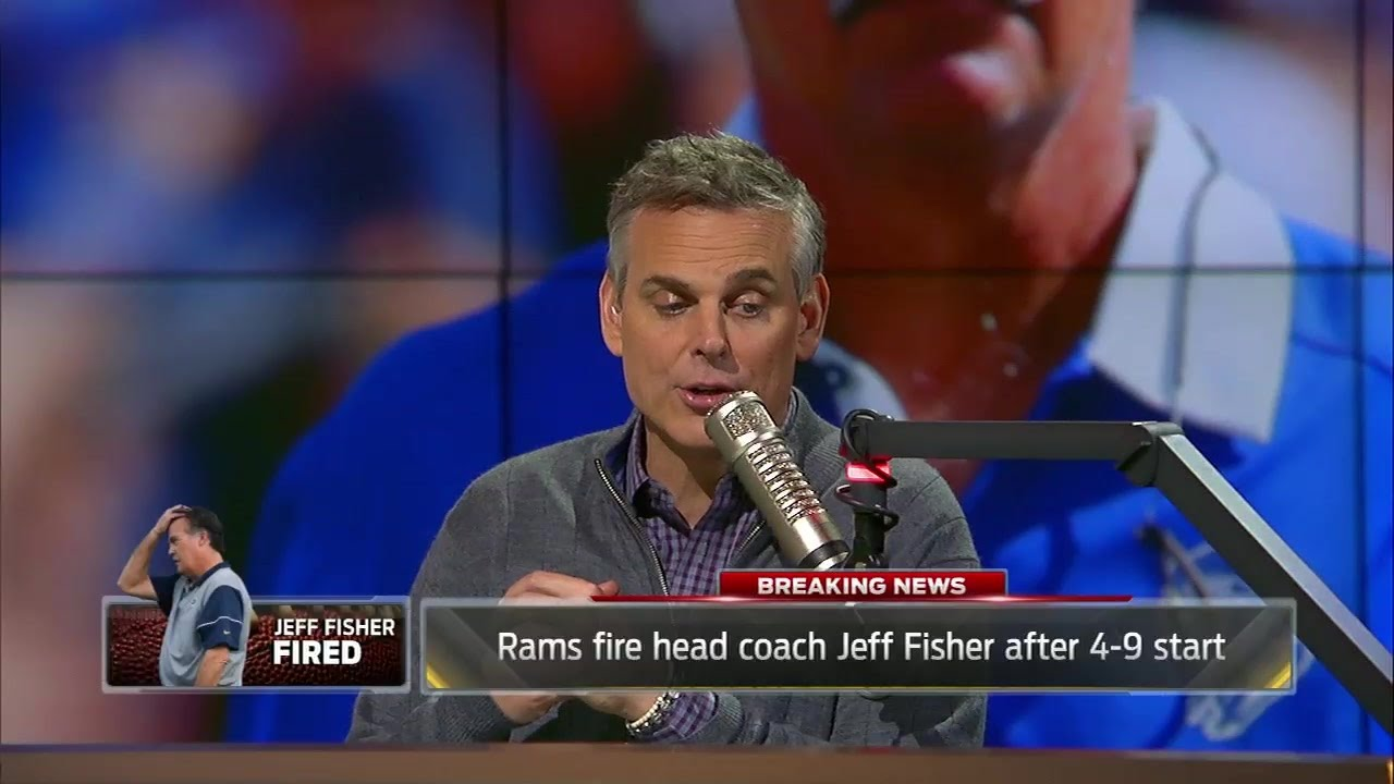 Eric Dickerson reacts to the firing of Rams head coach Jeff Fisher