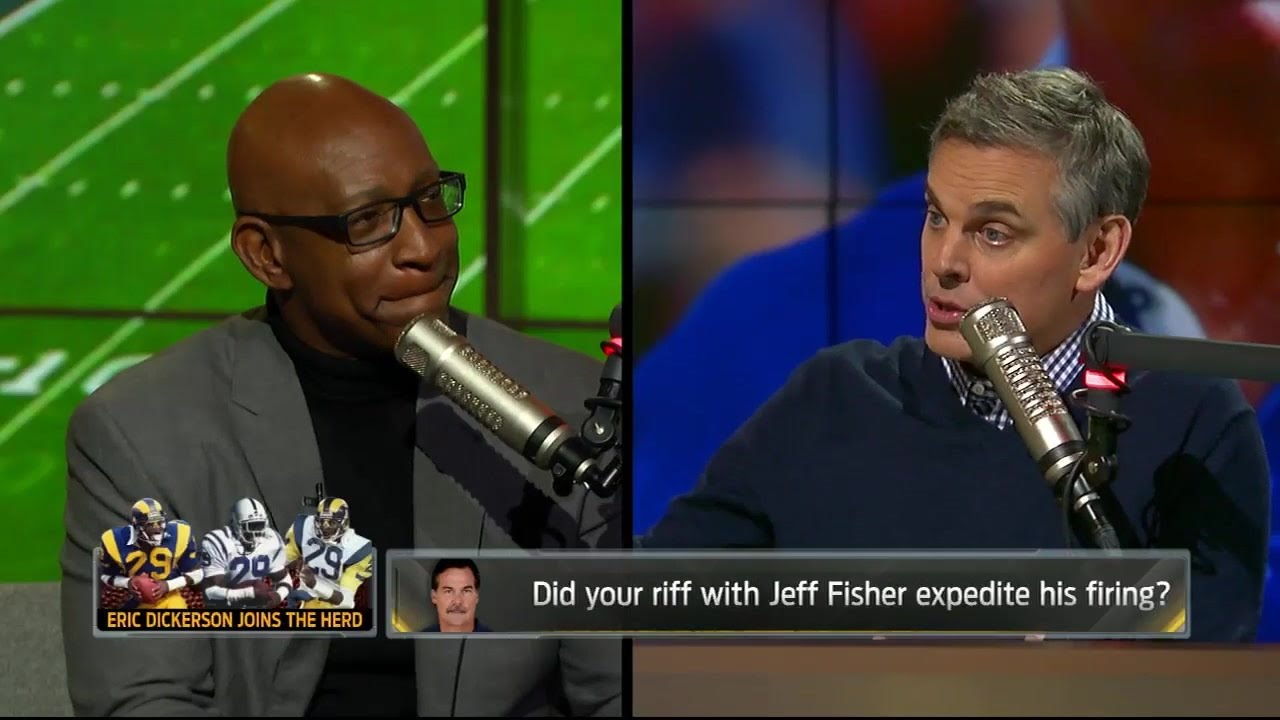 Eric Dickerson says he did not get Jeff Fisher fired
