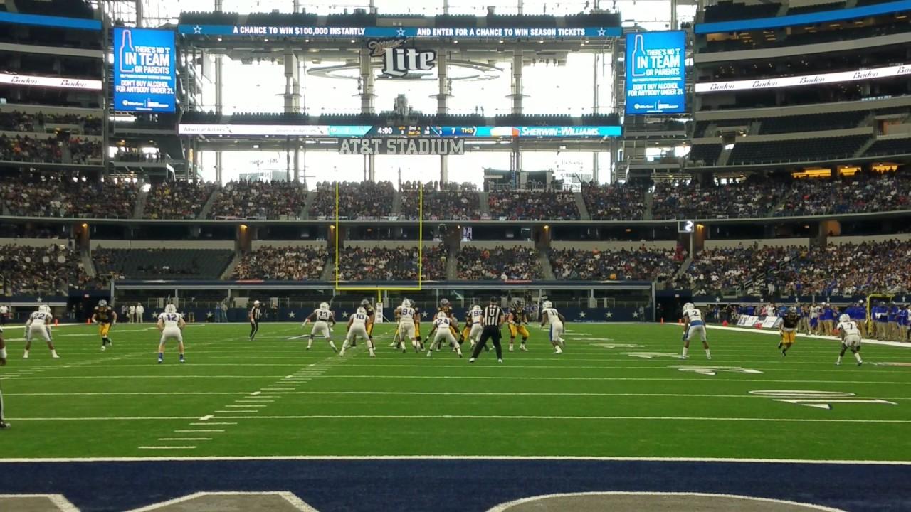 Fanatics View Live in Arlington: John Stephen Jones completes near touchdown pass at AT&T Stadium