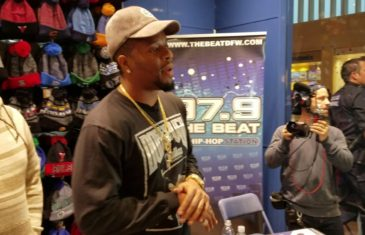 Fanatics View Live in Dallas: Dorrough at Lids in North Park for Dallas Cowboys hat pop up