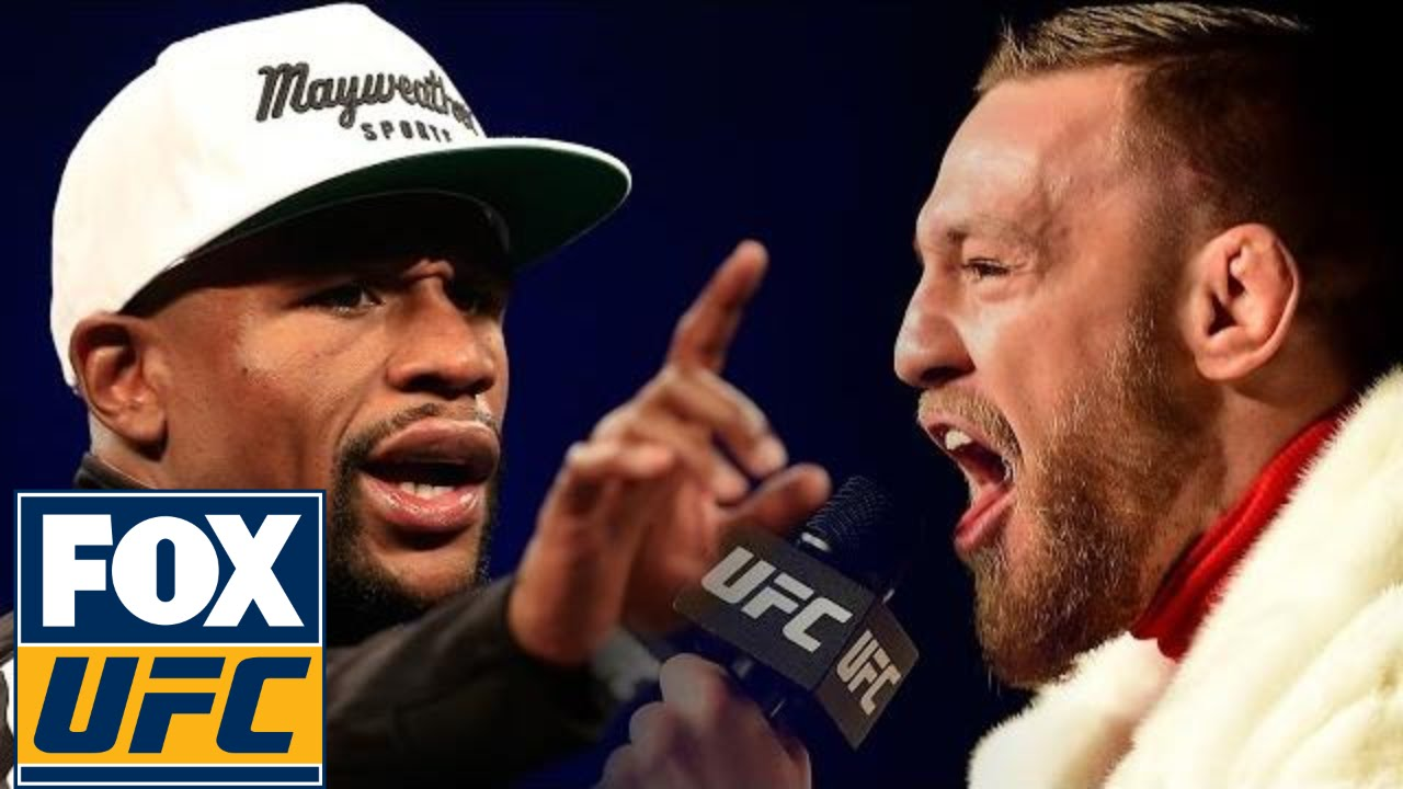 Floyd Mayweather says he'll slap Conor McGregor when he sees him
