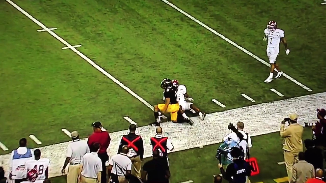 Grambling State's Verlan Hunter makes the best catch that never was