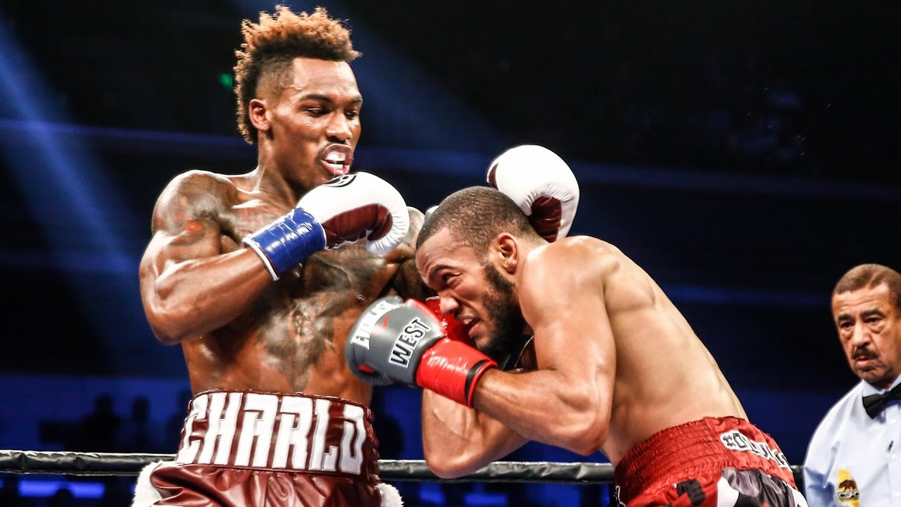 Jermall Charlo knocks out Julian Williams with a vicious upper cut