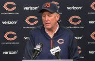 John Fox speaks on Jay Cutler's season ending injury & his future with the Bears