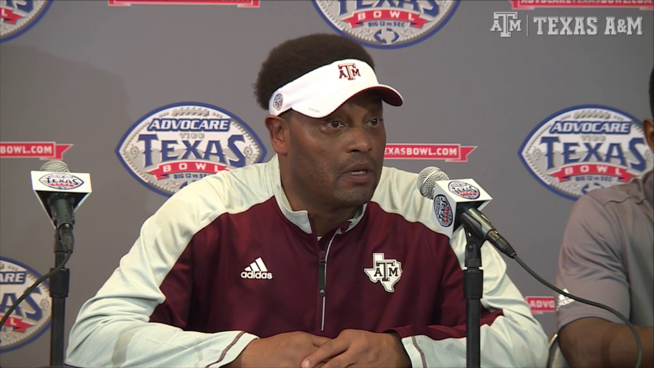 Kevin Sumlin & Trevor Knight speak on Texas A&M's bowl loss to Kansas State