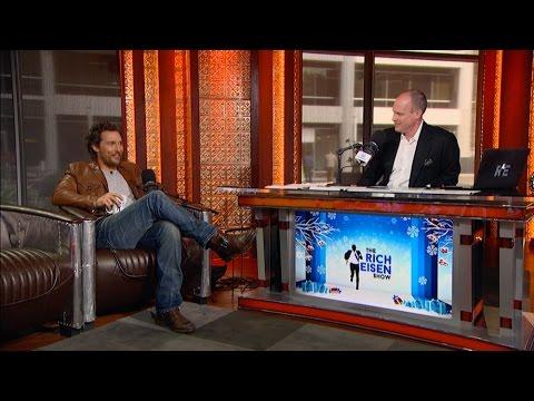 Matthew McConaughey talks being a Washington Redskins fan & True Detective 3