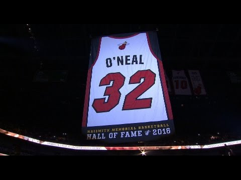 Miami Heat retire Shaquille O'Neal's jersey (Full Ceremony)