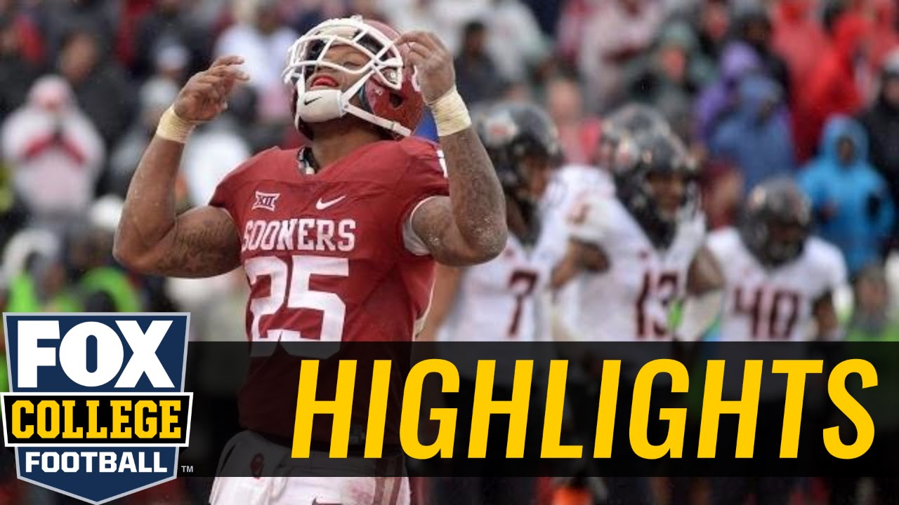 Oklahoma Sooners defeat Oklahoma State for the Big 12 Championship