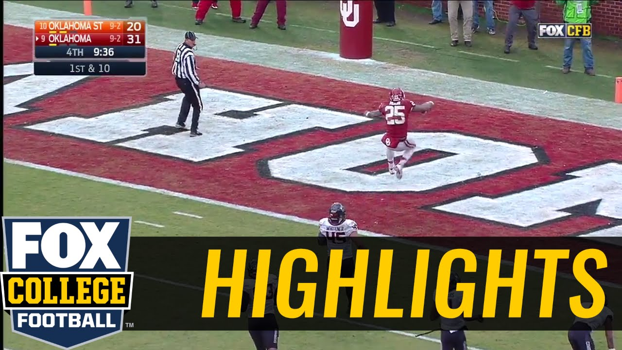 Oklahoma's Joe Mixon takes it 79 yards to the house