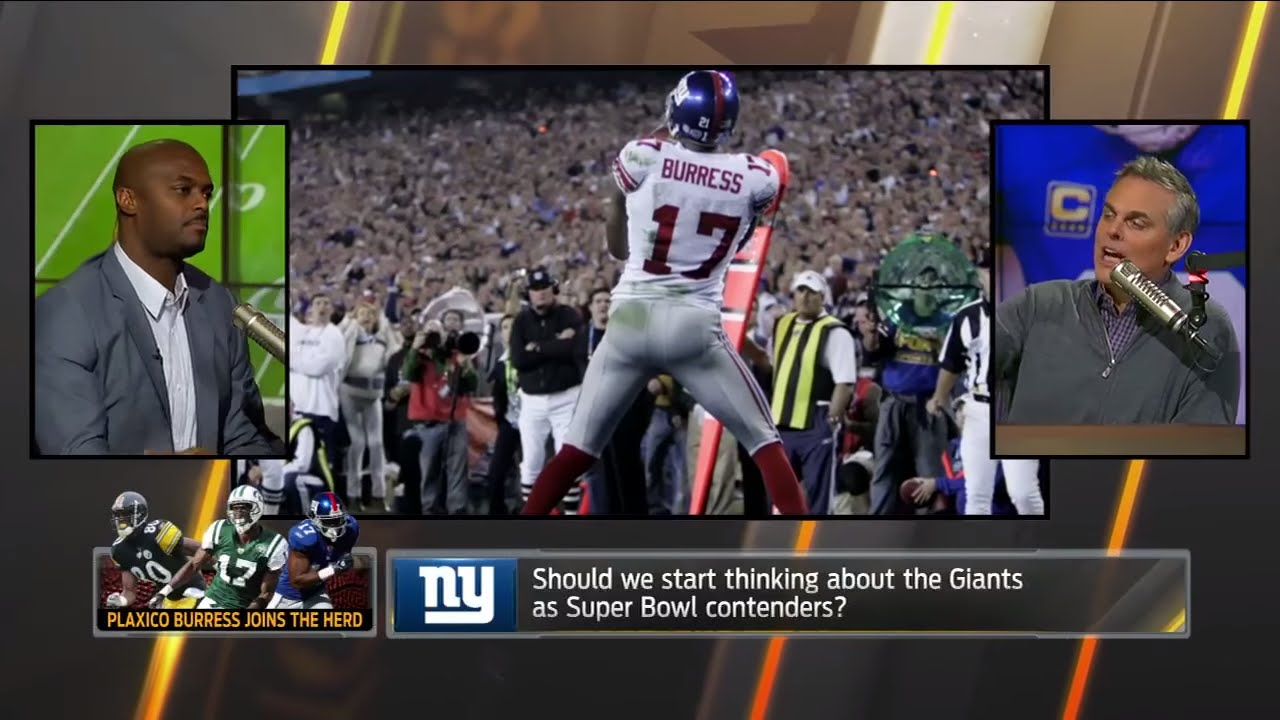 Plaxico Burress explains the differences between the Jets & Giants organizations