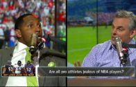 Ray Lewis explains why NFL players are jealous of NBA players