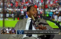 Ray Lewis speaks on how powerful the Dallas Cowboys offensive line is