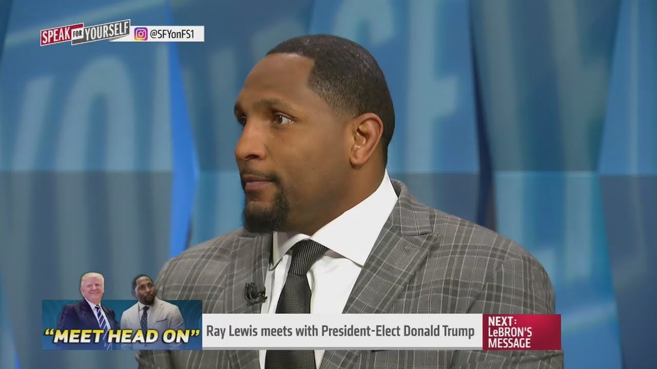 Ray Lewis talks about his meeting with Donald Trump