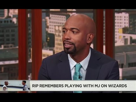 Richard Hamilton says Michael Jordan once told him he can't wear his shoes