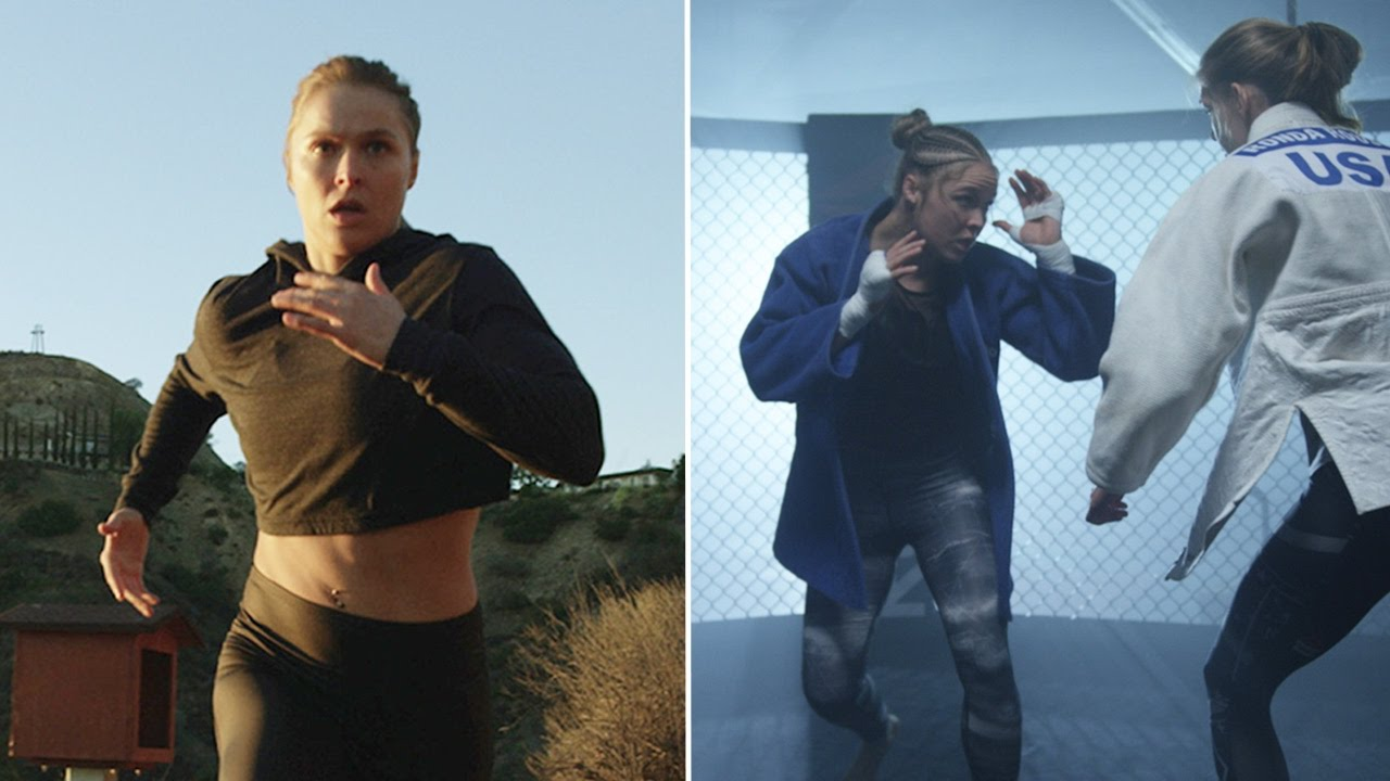 Ronda Rousey responds to critics in new comeback video