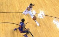 Russell Westbrook with an unbelievable assist vs. Phoenix