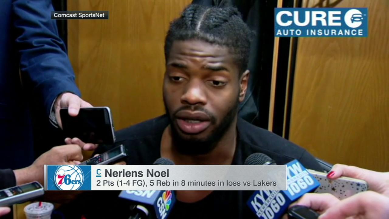 Sixers' Nerlens Noel tells 76ers to