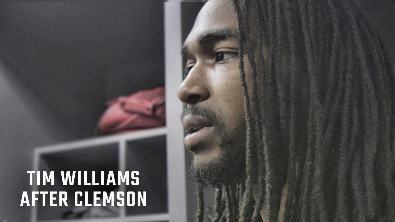 Alabama's Tim Williams gets emotional speaking on Alabama's loss to Clemson