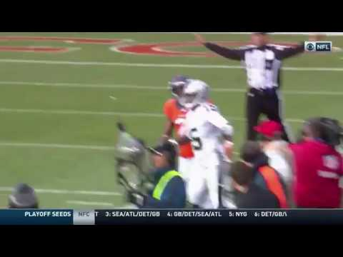 Aqib Talib rips Michael Crabtree's chain right off his neck