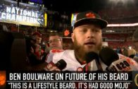 "Ben Boulware says ""It's disrespectful"" to even ask about shaving his beard"