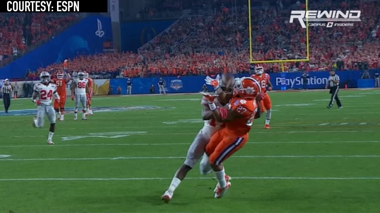Clemson's C.J. Fuller makes a beautiful touchdown grab vs. Ohio State