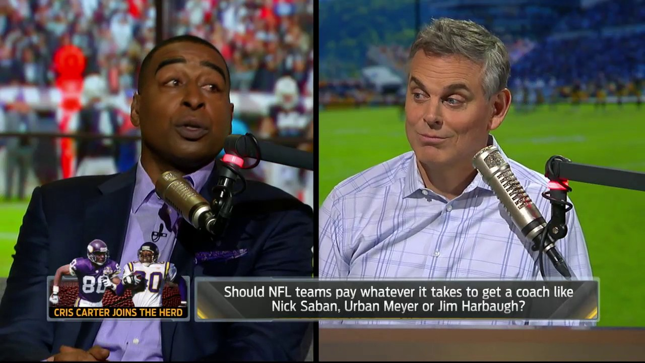 Cris Carter speaks on Urban Meyer's future at Ohio State