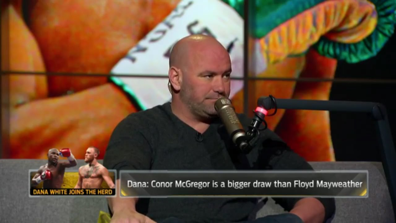 Dana White makes $25 million offer to Floyd Maywether to fight Conor McGregor
