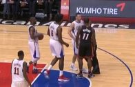 Dion Waiters elbows JJ Redick & gets ejected