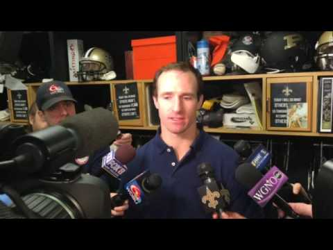 Drew Brees says Saints fans are not as frustrated as he is