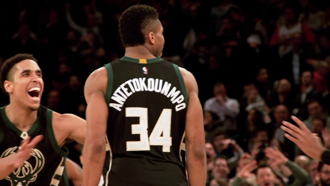 Giannis Antetokounmpo hits game winner vs. New York in MSG