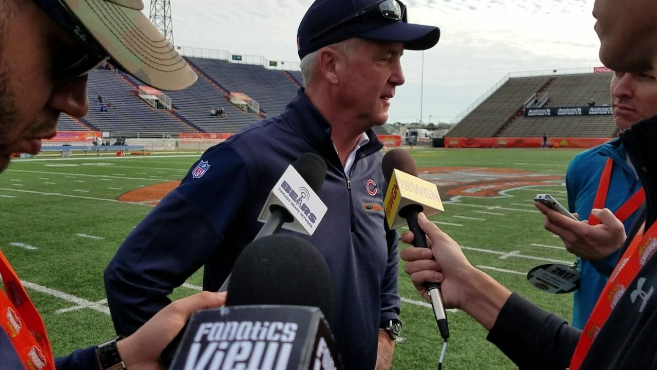 John Fox speaks on the Chicago Bears & 2017 Senior Bowl (FV Exclusive)